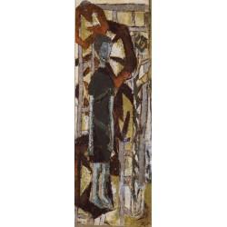 BRAQUE George (1882-1963) --FRANCESA-- 'Mujer'