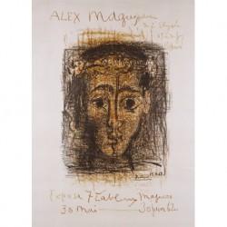 PICASSO Pablo RUIZ (1881-1973) CATALANA/ESPAÑOLA ' Alex Moguy Galerie de l´Elysée' 1962