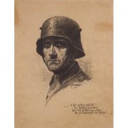 CATTFIGATB W. --ALEMANA-- 'Soldado alemán' S. XIX-XX