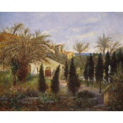 ANAGRAMADO R.B. (2/3 S. XIX) -- ITALIANA-- 'Bordighera'