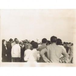 LLEGADA DE Hans OTT PLANEADOR 'ARGENTINA' 24.7.1937