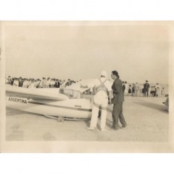 PLANEADOR 'ARGENTINA' CON Hans OTT 24.7.1937