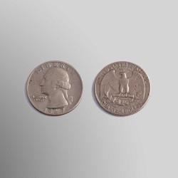 1/4 DÓLAR USA WASHINGTON 1967 COBRENÍQUEL