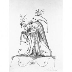 DALI Salvador (1909-1989) CATALANA/ESPAÑOLA 'Les Songes Drolatiques de Pantagruel' 1973