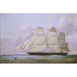 LAWRENCE Richard --INGLESA-- 'Marina' (fragata norteamericana) 1853