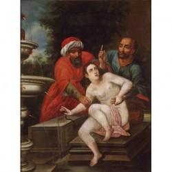 ANÓNIMO pp. S. XIX --ESPAÑOLA-- 'José vendido por sus hermanos'