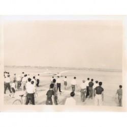 PLANEADOR 'ARGENTINA' LLEGADA A QUILMES 24.7.1937